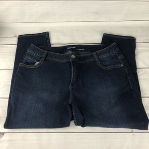 Lane Bryant Genius Fit Ankle Denim